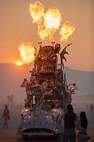 Rabid Transit Flames at Sunset
