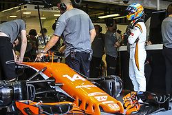 September 1, 2017 - Monza, Italy - Motorsports: FIA Formula One World Championship 2017, Grand Prix of Italy, ..#14 Fernando Alonso (ESP, McLaren Honda) (Credit Image: © Hoch Zwei via ZUMA Wire)