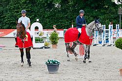 09, Youngster-Springprfg. Kl. M**,Ehlersdorf, Reitanlage Jörg Naeve, 29.06. - 01.07.2021, Michael Grimm (GER), Calla Grande,,
