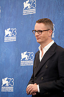 Director, Nicolas Winding Refn at the Dawn Of The Dead - European Cut film photocall at the 73rd Venice Film Festival, Sala Grande on Friday September 2nd 2016, Venice Lido, Italy.