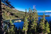 Fannette Island, Emerald Bay State Park, Lake Tahoe, California USA