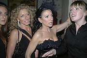 Kelly Hoppen and Nancy dell'Olio, Andy and Patti Wong's Chinese New Year of the Pig party. Madame Tussauds. ( Dress Burlesque, Debauched or Hollywood Black Tie. ) London. 27 January 2007.  -DO NOT ARCHIVE-© Copyright Photograph by Dafydd Jones. 248 Clapham Rd. London SW9 0PZ. Tel 0207 820 0771. www.dafjones.com.