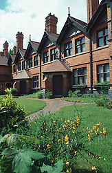 Victorian almshouses on Berridge Road; Nottingham,