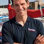 Portrait de Pierre Brasseur / Class 40 MATOUBA