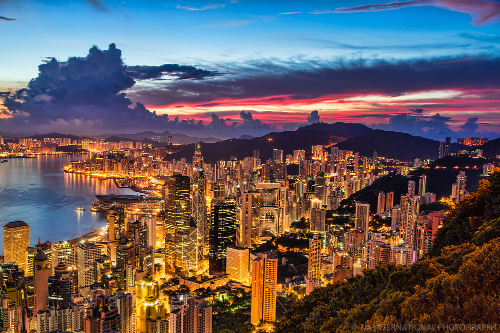 Hong Kong @ Dawn
