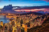 Hong Kong @ Dawn