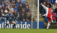 PICTURE HELEN BATT, DIGITALSPORT<br /> NORWAY ONLY<br /> <br /> GILLINGHAM VS COVENTRY CITY<br /> 1ST MAY 2004<br /> GARY MCSHEFFREY SCORE THE SECOND GOAL<br /> ADY KERRY 07973 286863 01227 720085