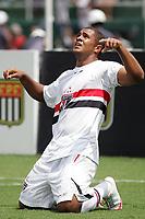 20100125: SAO PAULO, BRAZIL - Sao Paulo FC vs Santos - Sao Paulo Youth Cup 2010 Final. Sao Paulo FC won on the penalty shootout. In picture: Ronieli (Sao Paulo) celebrating goal. PHOTO: CITYFILES