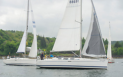 Day 2 Sailing, SCOTLAND<br /> <br /> Class 10, Spirit of May, Dufour 40, GBR8869T<br /> <br /> The Scottish Series, hosted by the Clyde Cruising Club is an annual series of races for sailing yachts held each spring. Normally held in Loch Fyne the event moved to three Clyde locations due to current restrictions. <br /> <br /> Light winds did not deter the racing taking place at East Patch, Inverkip and off Largs over the bank holiday weekend 28-30 May. <br /> <br /> Image Credit : Marc Turner / CCC
