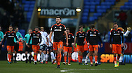 Jack O'Connell of Sheffield Utd dejected during the FA Cup Second round match at the Macron Stadium, Bolton. Picture date: December 4th, 2016. Pic Simon Bellis/Sportimage