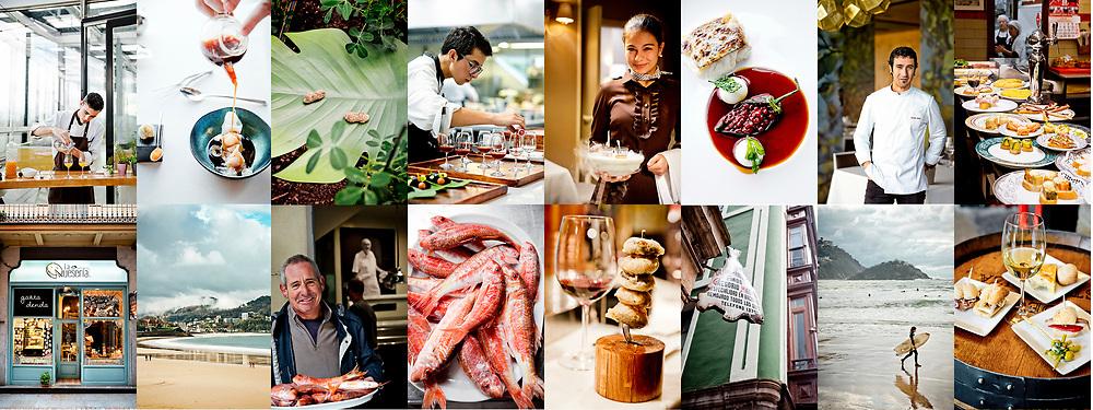 Culinary reportage along the Basque coast