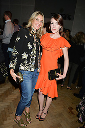 Left to right, KIM HERSOV and ELLA CATLIFF  at an exclusive showing of the Ralph Lauren Collection Spring 2014 Runway Collection held at the legendary Abbey Road Studios, Abbey Road, London NW8 on 21st May 2014.