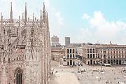 Milan, Italy, il DUOMO, Pizza del Duomo