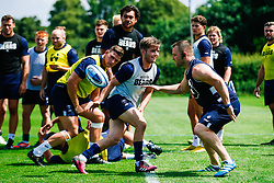 Harry Randall looks on during week 1 of Bristol Bears pre-season training ahead of the 19/20 Gallagher Premiership season - Rogan/JMP - 03/07/2019 - RUGBY UNION - Clifton Rugby Club - Bristol, England.