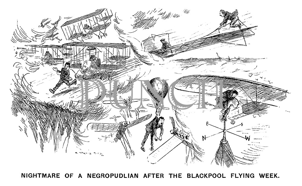Nightmare of a Negropudlian after the Blackpool flying week.