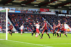 3 December 2017 -  Premier League - Bournemouth v Southampton - Charlie Austin of Southampton looks on as his effort hits the crossbar - Photo: Marc Atkins/Offside
