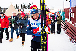 January 11, 2018 - GSbu, NORWAY - 180111 Johannes HÂ¿sflot Kl¾bo after the men's sprint classic technique final in the Norwegian Championship on January 11, 2018 in GÅ'sbu..Photo: Jon Olav Nesvold / BILDBYRN / kod JE / 160127 (Credit Image: © Jon Olav Nesvold/Bildbyran via ZUMA Wire)