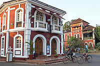 Fontainhas is the old Portuguese quarter of Panaji or Panjim as the town is often called. <br /> Fontainhas latin quarter has a special atmosphere distinct rom the hustle of the main city, with narrow streets and colourful Portuguese houses. The district lies at the base of the hillside called Altinho, and springs from the hillside, gave it the name Fontainhas.  The old world charm has been kept due to the fact that most houses in the area are painted red, yellow, green or blue, often with overhanging balconies.