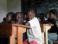 Rwanda- Students take part in a Sunday school class at Garry Scheer school in the Southern Province,  Rwanda.