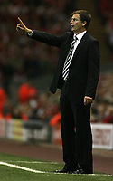 Photo: Paul Thomas.<br /> Liverpool v Newcastle United. The Barclays Premiership. 20/09/2006.<br /> <br /> Glenn Roeder, Newcastle manager.