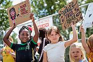 Kids walk against Racism