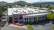 General overall aerial view of Mamba Sports Academy, Thursday, March 26, 2020, in Thousand Oaks, Calif. Kobe Bryant and daughter Gianna Bryant, were heading to the sports complex when on Sunday, January 26, 2020, they were among the people killed in a helicopter crash when a Sikorsky S-76B helicopter, piloted by Ara Zobayan, crashed around 30 miles northwest of downtown Los Angeles, en route from John Wayne Airport to Camarillo Airport. (Dylan Stewart/Image of Sport)