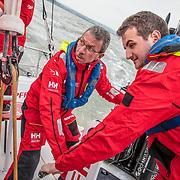 Cardiff stopover. ProAm race 1 on board MAPFRE. 07 June, 2018.