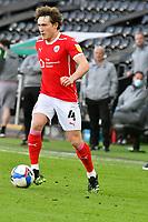 Football - 2020 / 2021 Sky Bet Championship - Play-offs - Semi-final, second leg - Swansea City vs Barnsley - Liberty Stadium.<br /> <br /> Callum Styles Barnsleyon the attack<br /> <br /> COLORSPORT/WINSTON BYNORTH
