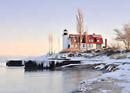 Point Betsie Lighthouse<br /> near Frankfort, Michigan