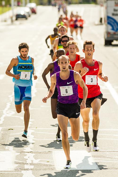 Dathan Ritzenhein leads pack of elite men contending for USATF 5K championship