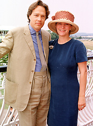 The EARL & COUNTESS OF MARCH AND KINRARA at a race meeting in West Sussex on 30th July 1999.MUP 22