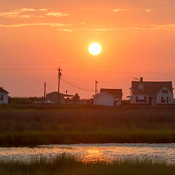 August 4, 2017 - Tangier Island, VA - Sunset over Tangier Island .Photo by Susana Raab/Institute