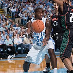 2006-01-14 Miami Hurricanes at North Carolina Tar Heels Basketball
