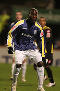 Quincy Owusu-Abeyie of Cardiff City. Coca Cola championship, Cardiff City v QPR match at Ninian Park in Cardiff on Wed 25th Feb 2009. pic by Andrew Orchard, Andrew Orchard sports photography.