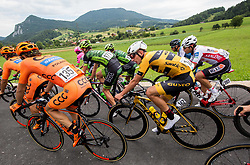 Ziga Jerman of Ljubljana Gusto Xaurum during 3rd Stage of 25th Tour de Slovenie 2018 cycling race between Slovenske Konjice and Celje (175,7 km), on June 15, 2018 in  Slovenia. Photo by Vid Ponikvar / Sportida