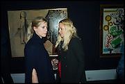 VIOLET VESTEY; DAVINA HARBORD, Sotheby's Frieze week party. New Bond St. London. 15 October 2014.