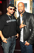 New York, NY- December 21: l to r: Recording Hip Hop Artists Supreme-I-Self of Wu-tang and Common backstage at the Common's  Concert of his new Album ' The Dreamer/Believer held at the House of Blues  on December 21, 2011 in Los Angeles, CA. Photo Credit: Terrence Jennings