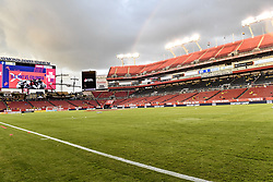 October 11, 2018 - Tampa, FL, United States - Tampa, FL - Thursday October 11, 2018: The men's national teams of the United States (USA) and Colombia (COL) play in an international friendly game at Raymond James Stadium. (Credit Image: © Roy Miller/ISIPhotos via ZUMA Wire)
