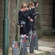 NLD/Lage Vuursche/20130816 - Uitvaart prins Friso, Bernhard Jr. en partner Annet Sekreve, Maurits en partner Marilene