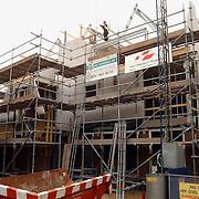 Hoogste punt nieuwbouw Raadhuisstraat Huizen