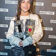 NLD/Amsterdam/20171009 - opening webshop About You, Lizzy van der Ligt