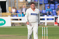 Mark Cosgrove during the Specsavers County Champ Div 2 match between Glamorgan County Cricket Club and Leicestershire County Cricket Club at the SWALEC Stadium, Cardiff, United Kingdom on 16 September 2019.