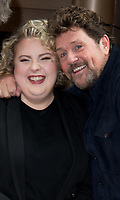 Lizzie Bea and Michael Ball at the Hairspray the Musical' photocall, London, UK - 18 Feb 2020