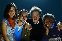 Cast of new Aussie film  Bran Nue Dae , from left Missy Higgins, Tom Budge, Geoffrey Rush, Ernie Dingo  Pic By Craig Sillitoe  07/08/2009 SPECIAL 000  Pic By Craig Sillitoe CSZ / The Sunday Age melbourne photographers, commercial photographers, industrial photographers, corporate photographer, architectural photographers, This photograph can be used for non commercial uses with attribution. Credit: Craig Sillitoe Photography / http://www.csillitoe.com<br /> <br /> It is protected under the Creative Commons Attribution-NonCommercial-ShareAlike 4.0 International License. To view a copy of this license, visit http://creativecommons.org/licenses/by-nc-sa/4.0/.