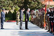 Bilateral meeting Italy - Spain at Moncloa
