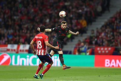 May 3, 2018 - Madrid, Spain - CALUM CHAMBERS of Arsenal FC during the UEFA Europa League, semi final, 2nd leg football match between Atletico de Madrid and Arsenal FC on May 3, 2018 at Metropolitano stadium in Madrid, Spain (Credit Image: © Manuel Blondeau via ZUMA Wire)