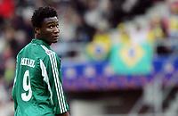 Fotball <br /> FIFA World Youth Championships 2005<br /> Emmen<br /> Nederland / Holland<br /> 12.06.2005<br /> Foto: Morten Olsen, Digitalsport<br /> <br /> Brasil v Nigeria 0-0<br /> <br /> John Obi Mikel - Nigeria