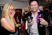 CONSTANSIA GOTSOPOULOU; JIMMY HO; LAYLA ROSE Exhibition of photographs by Ellen von Unworth. Michael Hoppen Gallery. Jubilee Place, Chelsea. London. 22 October 2009.