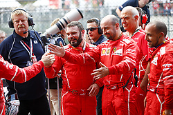 August 27, 2017 - Spa-Francorchamps, Belgium - Motorsports: FIA Formula One World Championship 2017, Grand Prix of Belgium, ..mechanic of Scuderia Ferrari  (Credit Image: © Hoch Zwei via ZUMA Wire)