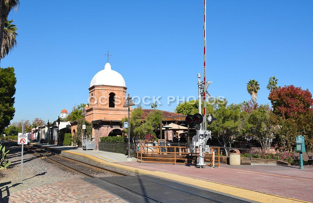 Train Tracks Near Trevor's at the Tracks in San Juan Capistrano